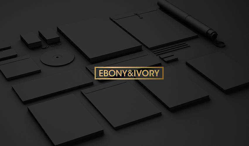 Ebony Ivory Identity Mockup Templates PSD Photoshop Free