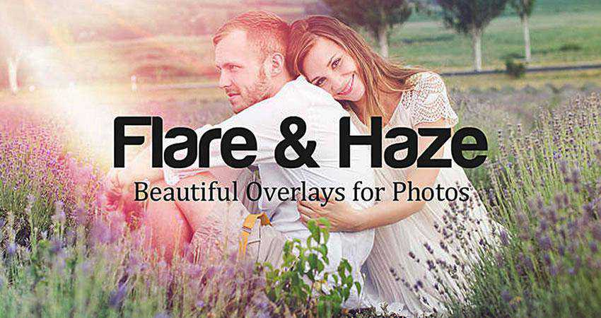 Flare Haze Texture Overlays Photography Effects