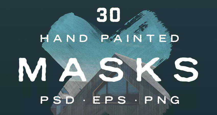 Hand Painted Photo Mask Shapes Photography Effects