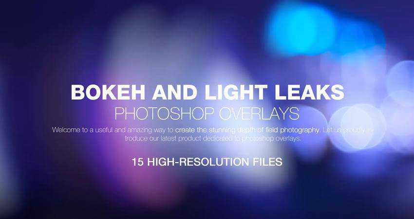 Bokeh Light Leaks Backgrounds Photography Effects