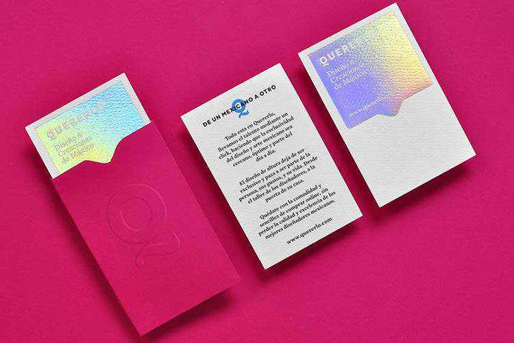3D in Hand: Beautiful Business Cards with Holographic Effects