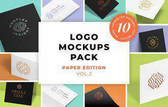 Logo Mockups Pack