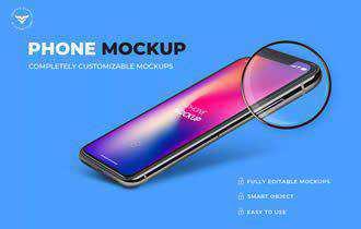 Mobile Mockups Template