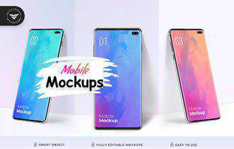 Mobile Mockup Template