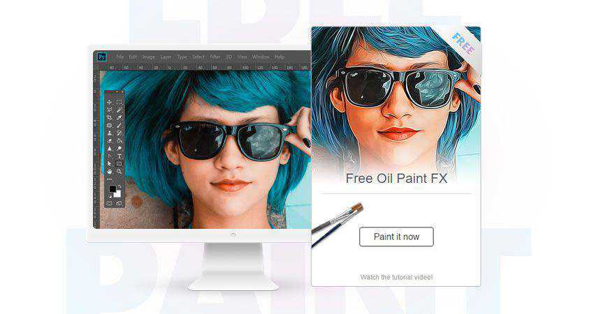 Oil Paint Photoshop Plugin Photographer Plugin