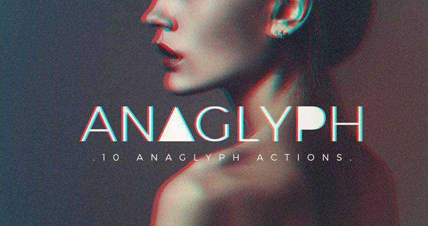 Los mejores plugins gratuitos de Photoshop para fotógrafos en 2020: acciones de Photoshop anaglifo