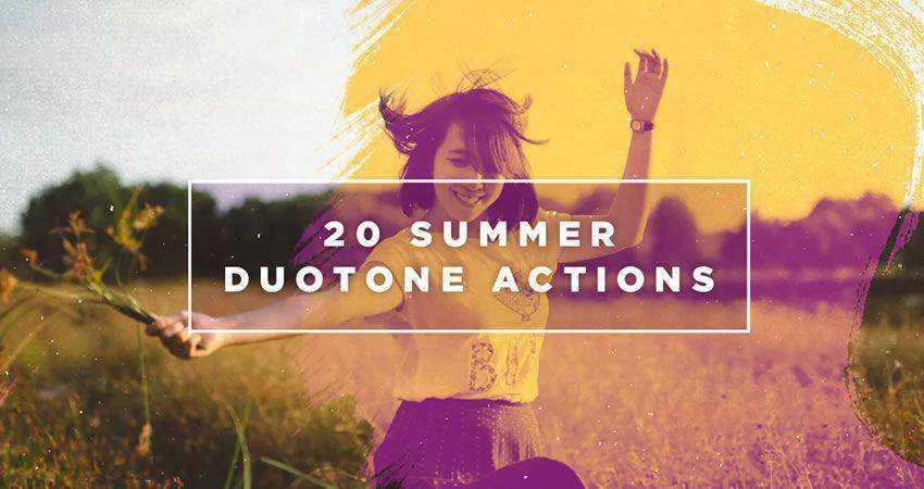 Complemento de fotógrafo de verano Duotone