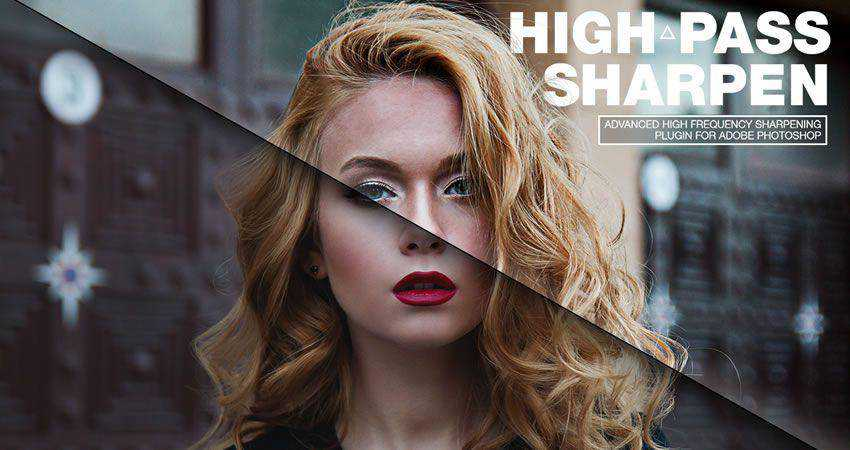 Highpass Sharpen Photoshop Plugin Photographer Plugin