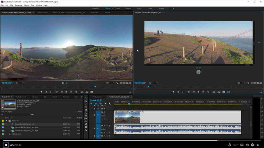 How to Edit VR Videos in Premiere Pro