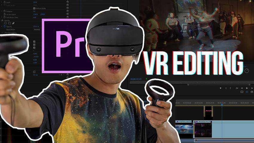 How to Edit VR Video with Oculus Rift in Premiere Pro