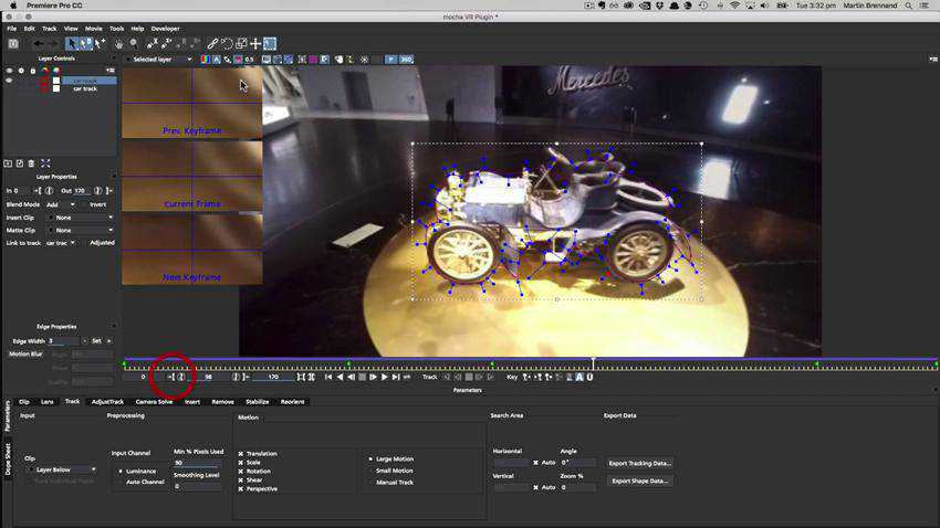 Color Correction Masking in Premiere Pro