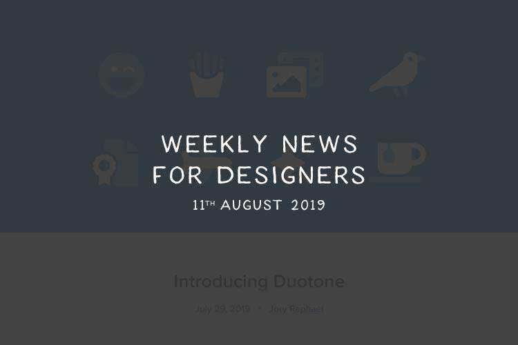 Weekly News for Designers № 500