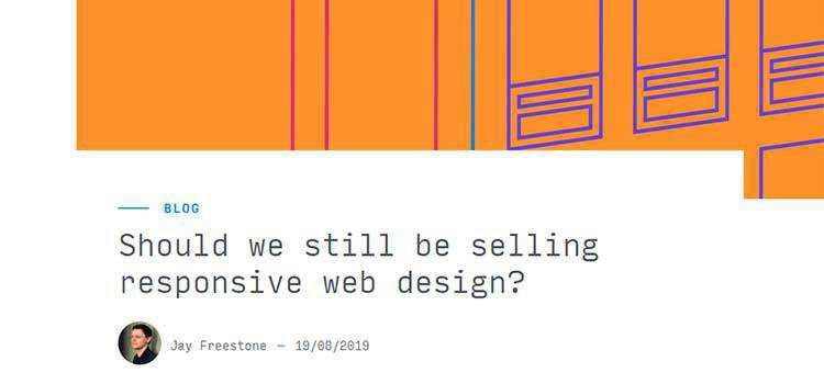 Should we still be selling responsive web design?