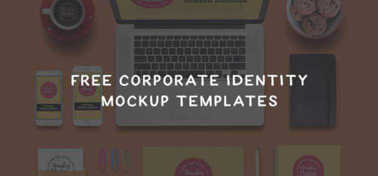 20 Free Branding & Corporate Identity Mockup Templates