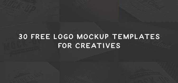 30 Free Logo Mockup PSD Templates for Creatives