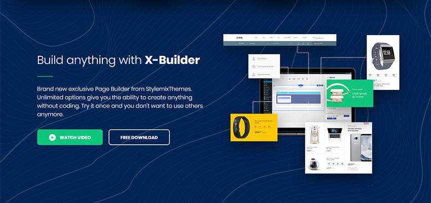 X-Builder from StylemixThemes