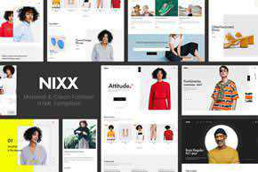 NIXX | Minimal & Clean Fashion HTML Template