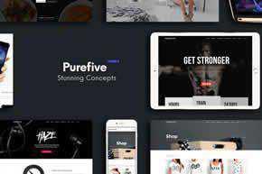 Purefive - Multipurpose HTML5 Template