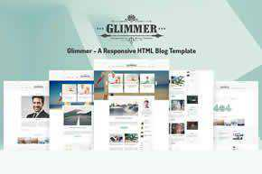 Glimmer Blog Template