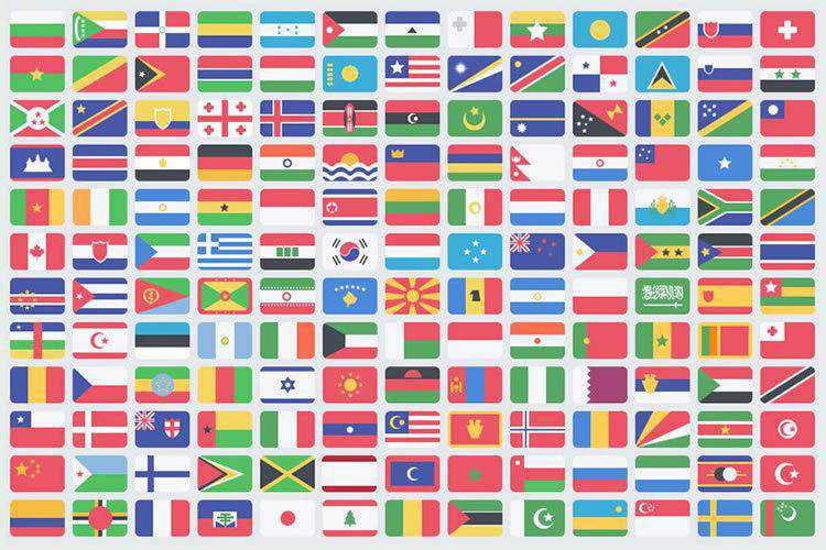 Top 10 Free Country Flag Icon Sets