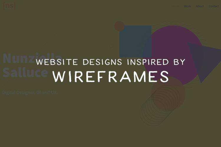A Showcase of Websites That Have Been Inspired by Wireframes