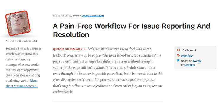 A Pain-Free Workflow For Issue Reporting And Resolution