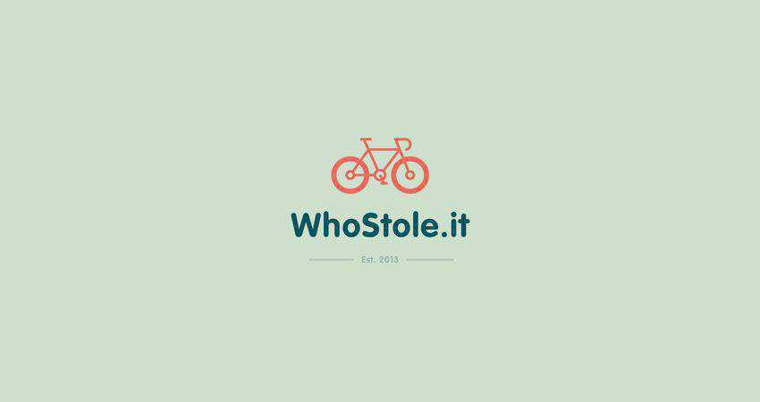 whostole flat logo inspiration example
