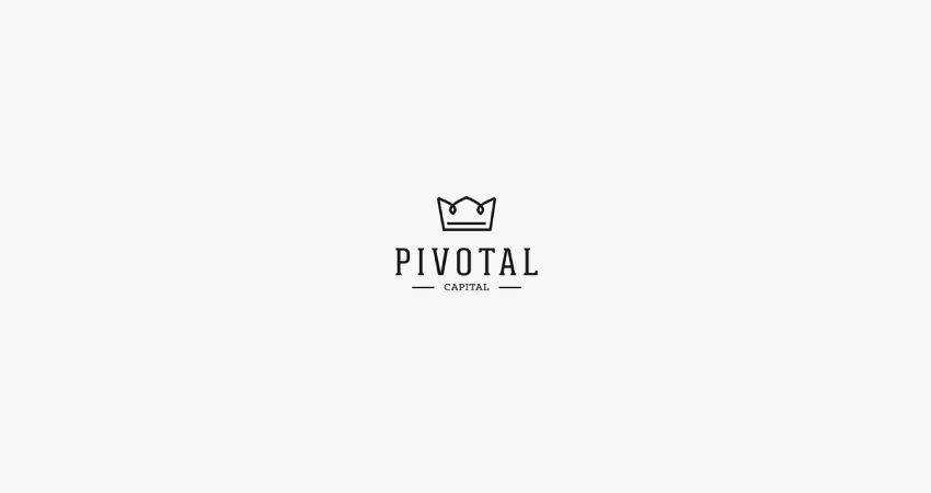 pivotal flat logo inspiration example