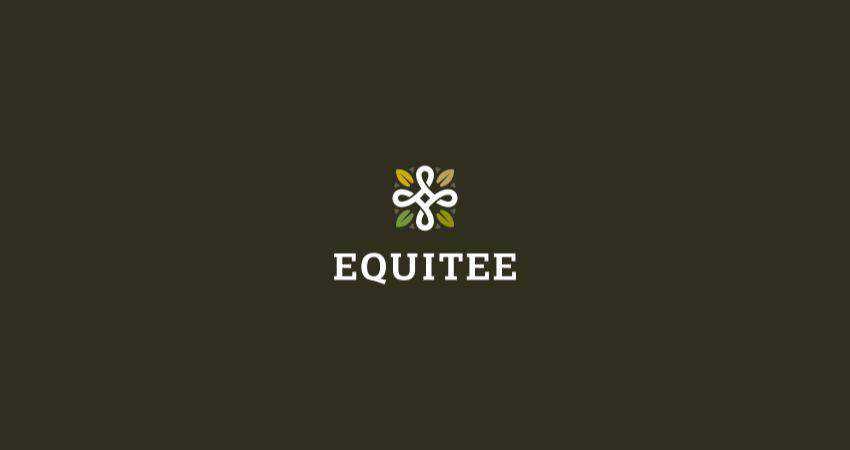 equitee flat logo inspiration example