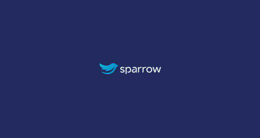 sparrow flat logo inspiration example
