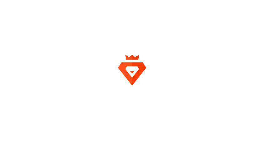 lion king flat logo inspiration example