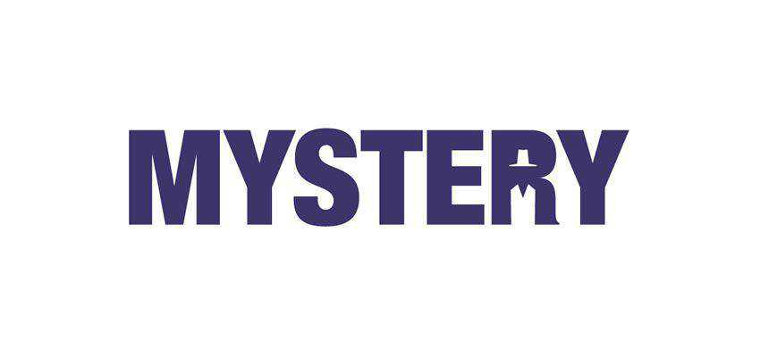 Mystery clever typography in logo design