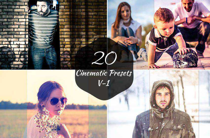 20 free cinematic movie lightroom preset