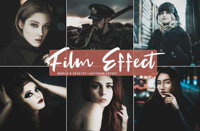 Film Effect free cinematic movie lightroom preset