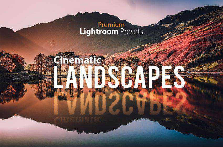 Cinematic Landscape free movie lightroom preset