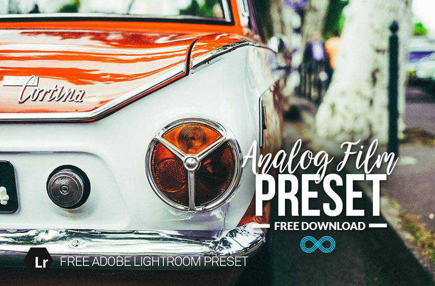 Analog Film free cinematic movie lightroom preset