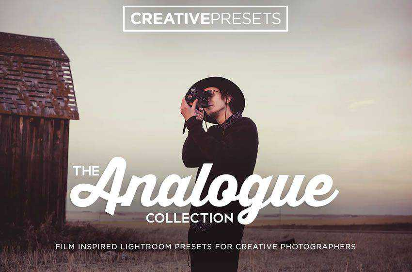 Analogue Film free cinematic movie lightroom preset
