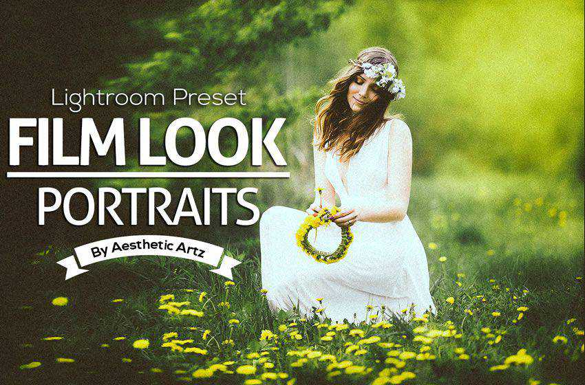 Film Look Portraits free cinematic movie lightroom preset