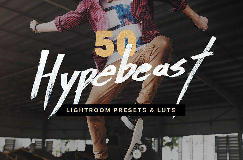 50 Hypebeast free cinematic movie lightroom preset