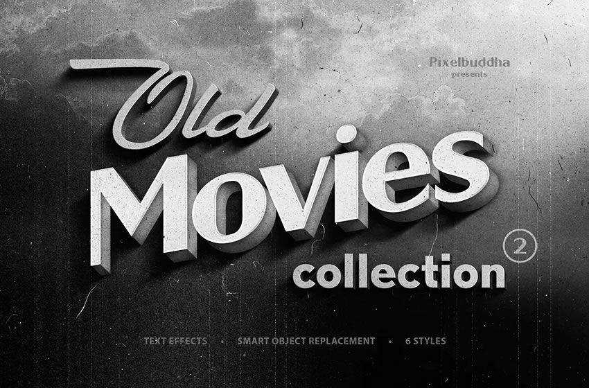 Old Movie Titles Collection free cinematic movie lightroom preset