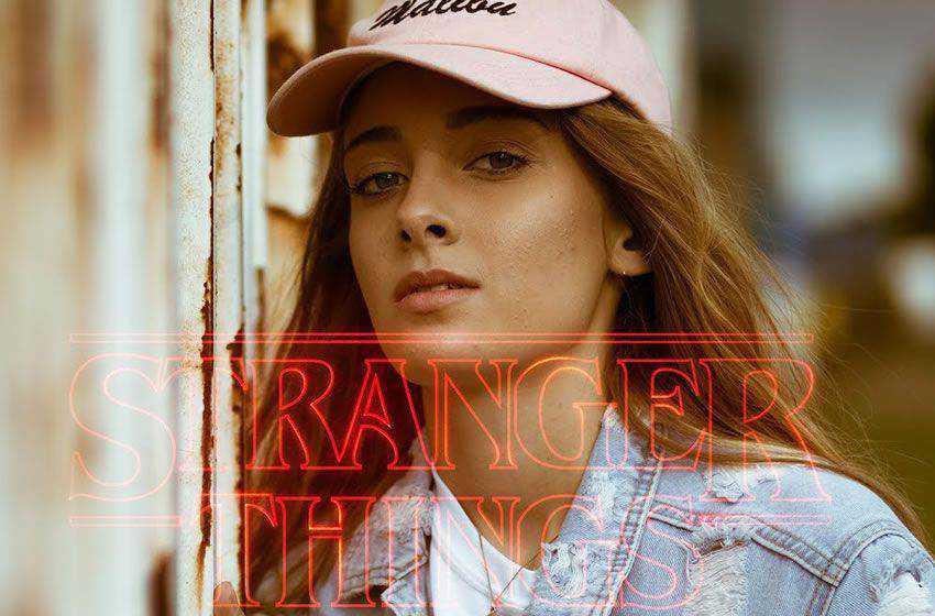 Stranger Things Cinematic Effect free movie lightroom preset