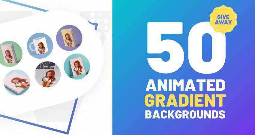 50 Animated Gradient Backgrounds free final cut pro fcpx preset template