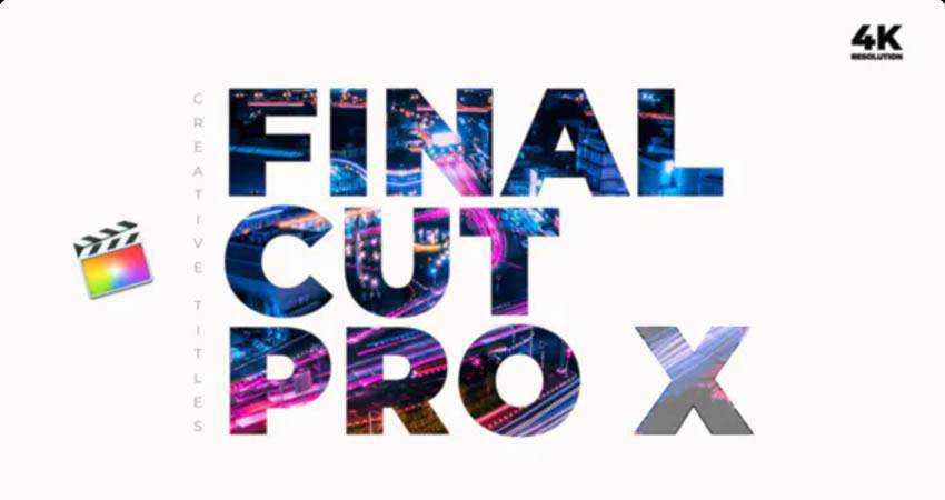 Creative Titles free final cut pro fcpx preset template