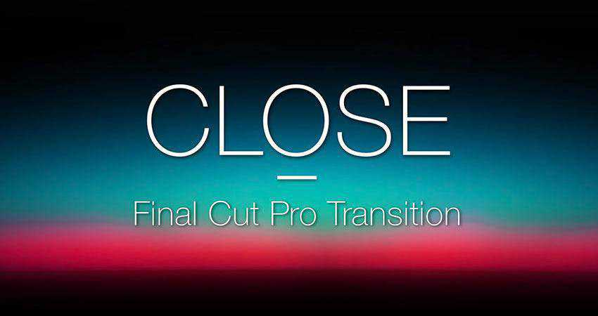 Horizontal Vertical Close Transition free final cut pro fcpx preset template