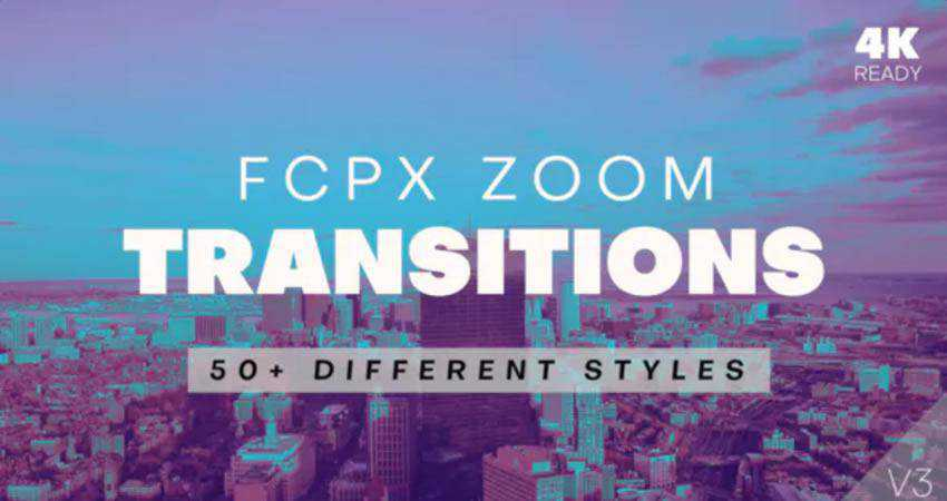 Zoom Transitions free final cut pro fcpx preset template
