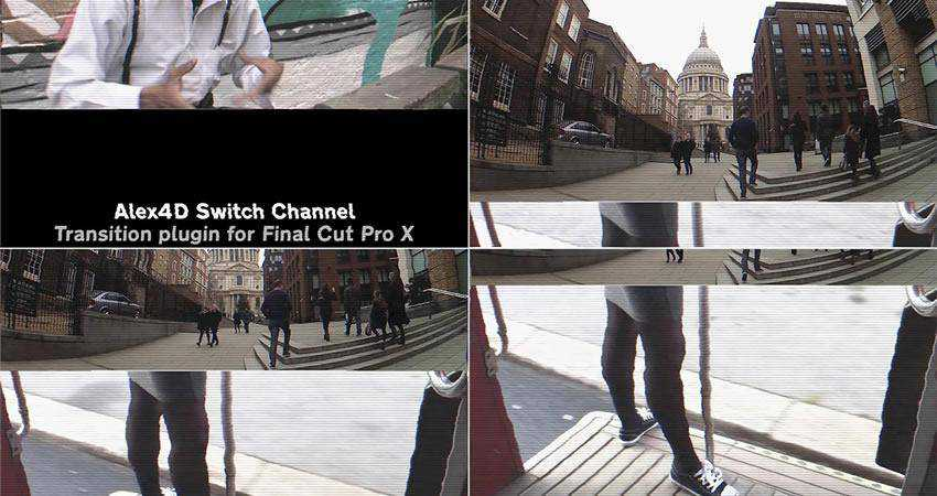 Channel Switch Transition free final cut pro fcpx preset template