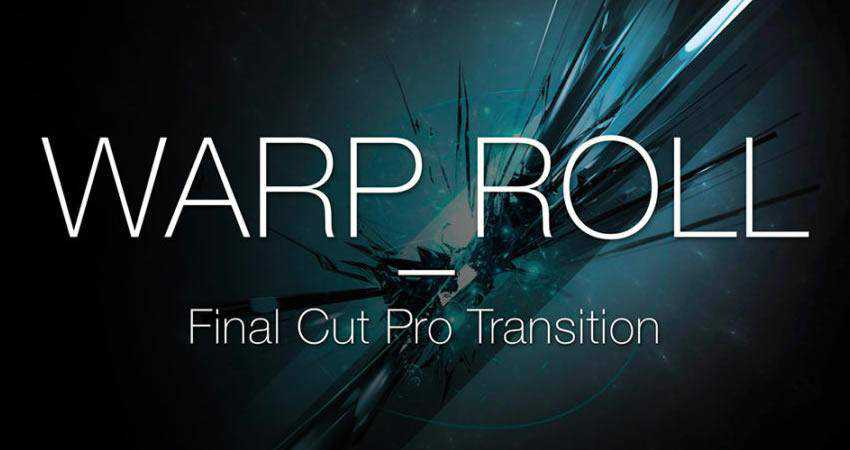 Warp Roll Transition free final cut pro fcpx preset template