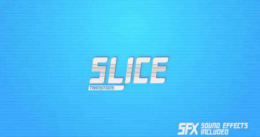 Slice Transitions free final cut pro fcpx preset template