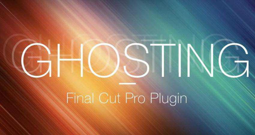 Ghosting Effect Plugin free final cut pro fcpx preset template