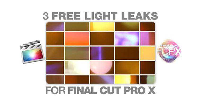 Light Leak Transitions free final cut pro fcpx preset template